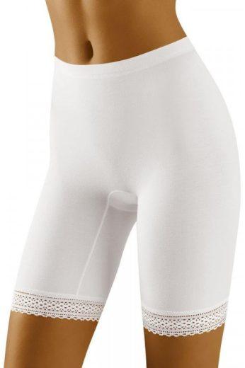Dámské nohavičkové kalhotky Rona bílé (vel.XXL skladem)