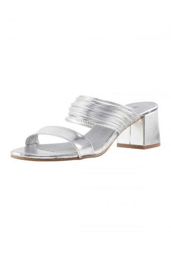 Stříbrné dámské pantofle HEINE (vel.38 skladem)