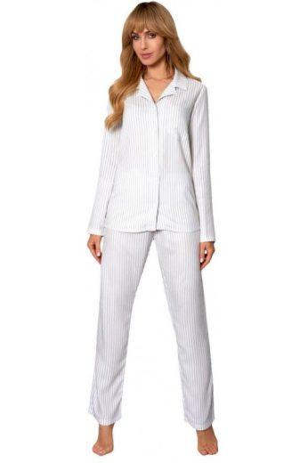 Klasické dámské pyžamo Anna pruhy