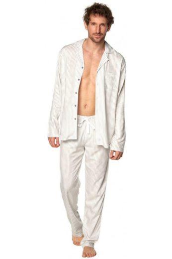 Klasické pánské pyžamo Alan pruhy