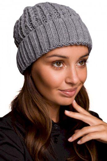 Dámská zimní pletená čepice beanie, MOE