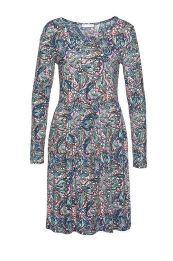 Žerzejové šaty s paisley vzorem, Cheer