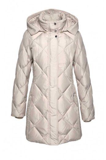 Dlouhá péřová značková zimní bunda, Fuchs Smitt (vel.40 skladem)