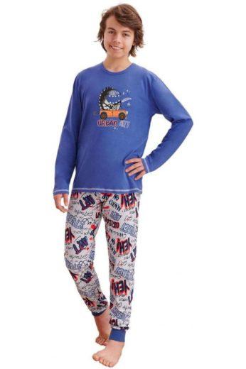 Chlapecké pyžamo Miloš tmavě modré
