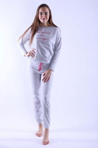Dámské pyžamo Camila šedé magic