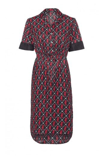 SCOTCH & SODA dámské šaty z materiálu Seersucker