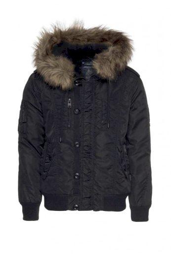 Značková pánská zimní bunda, vatovaný pánský bluzon, KHUJO