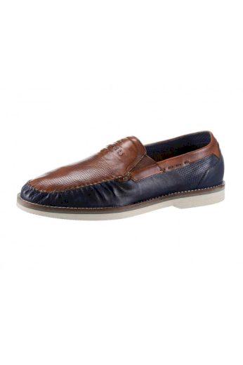 Pánské kožené boty mokasíny, pánské slipper Bugatti