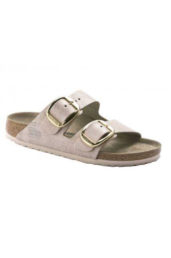 Birkenstock, značkové pantofle z velurové kůže (vel.42 skladem)
