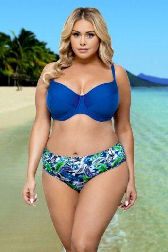 Dvoudílné dámské plavky Linde modré