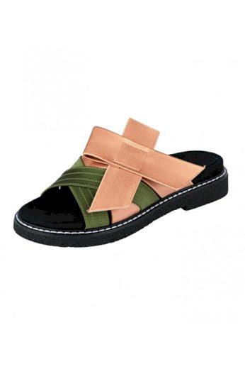 Dámské pantofle s mašlí, HEINE (vel.38 skladem)