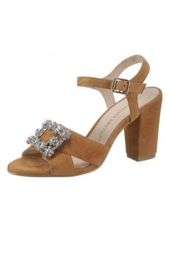 Letní kožené sandálky, sandálky z velurové kůže