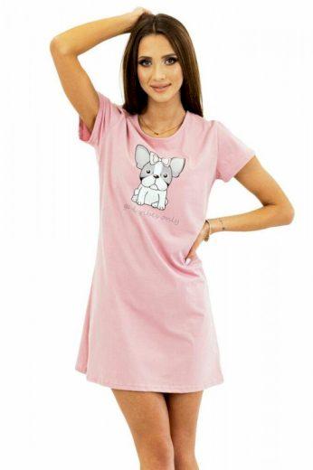 Dámská košilka Sweet Puppy růžová