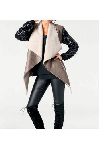 Návrhářská bunda z imitace kůže, Rick Cardona