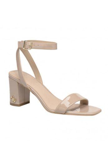 Značkové lakované sandálky v tělové barvě, GUESS (vel.36 skladem)