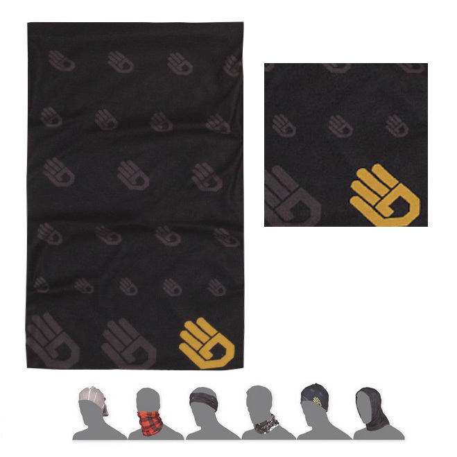 SENSOR TUBE THERMO HAND šátek multifunkční černá