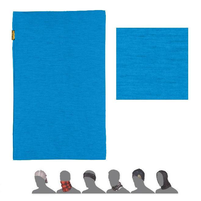 SENSOR TUBE MERINO WOOL šátek multifunkční modrá
