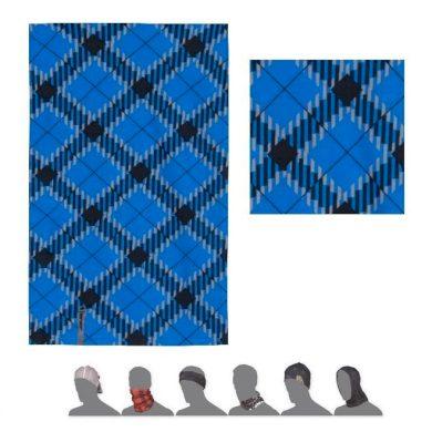 SENSOR TUBE THERMO HERO šátek multifunkční modrá