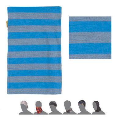 SENSOR TUBE MERINO ACTIVE šátek multifunkční modrá pruhy