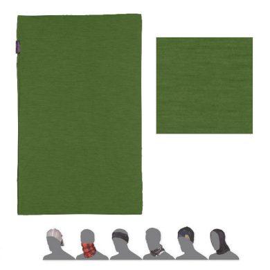 SENSOR TUBE MERINO ACTIVE šátek multifunkční safari green