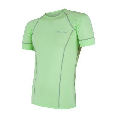 SENSOR COOLMAX FRESH pánské triko kr.rukáv sv.zelená