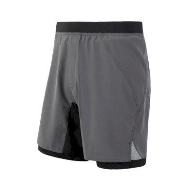 SENSOR TRAIL pánské šortky šedá/černá