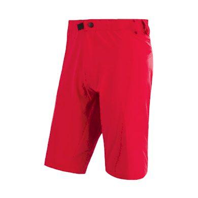SENSOR CYKLO HELIUM pánské kalhoty krátké volné červená