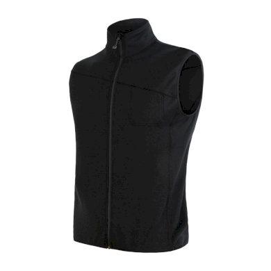 SENSOR MERINO EXTREME pánská vesta černá