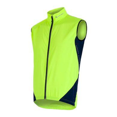SENSOR PARACHUTE EXTRALITE pánská vesta žlutá reflex/tm.modrá
