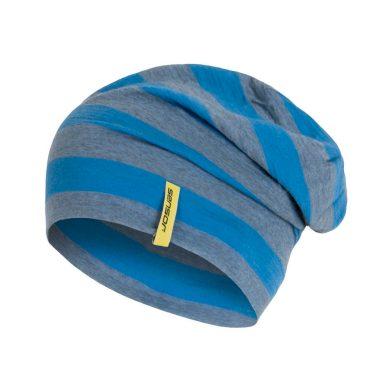 SENSOR ČEPICE MERINO WOOL modrá pruhy