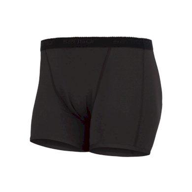 SENSOR COOLMAX FRESH dámské kalhotky s nohavičkou černá