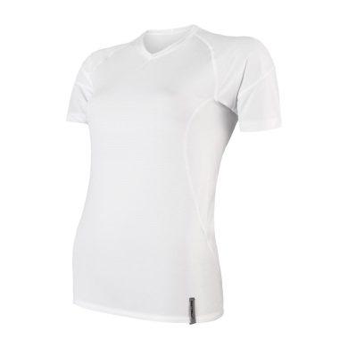 SENSOR COOLMAX TECH dámské triko kr.rukáv bílá