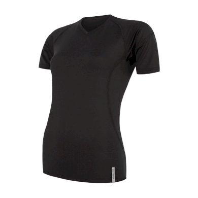 SENSOR COOLMAX TECH dámské triko kr.rukáv černá