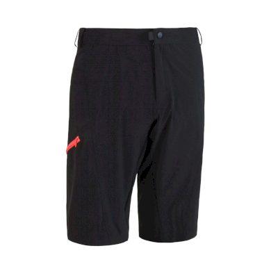 SENSOR CYKLO HELIUM LITE pánské kalhoty krátké volné černá