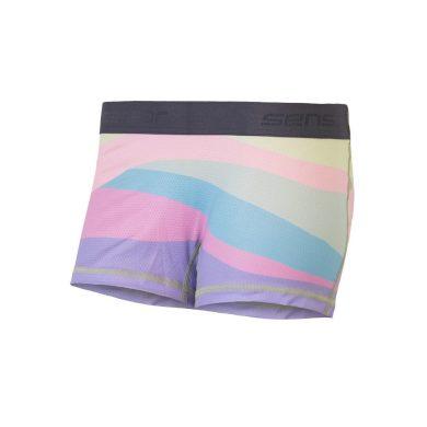 SENSOR COOLMAX IMPRESS dámské kalhotky s nohavičkou sand/stripes