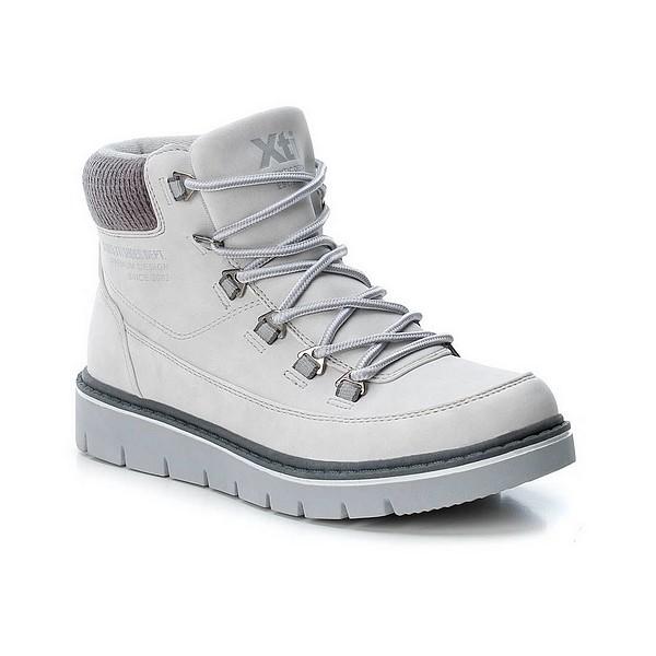Boty XTI kotníkové zimní bílé dámské Xti