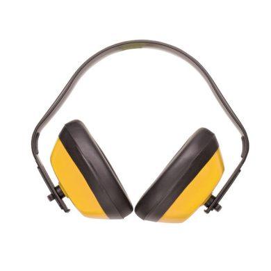 Mušlový chránič CLASSIC 28dB, žluté Portwest