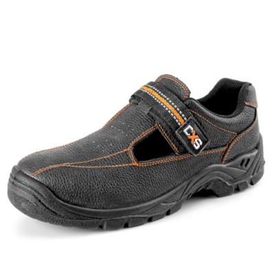 Sandál s ocelovou špicí S1 Stone Nefrit unisex CXS