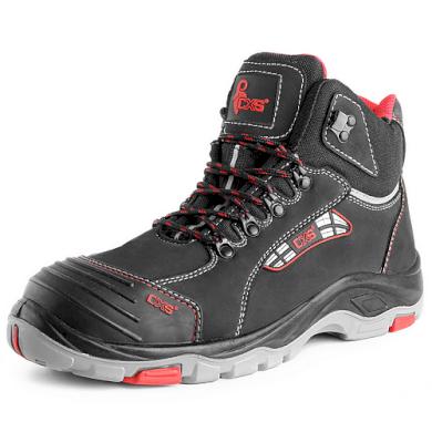 Kotníkové pracovní boty s ocelovou špicí S3 Rock Diorit unisex CXS