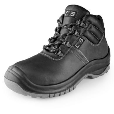 Kotníkové pracovní boty s ocelovou špicí S3 safety Steel Mangan unisex CXS