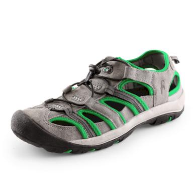 Pánské sandále SAHARA šedo-zelené CXS