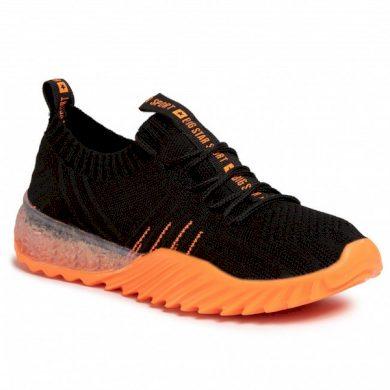 dámské SNEAKERSY černá / oranžová BIGSTAR