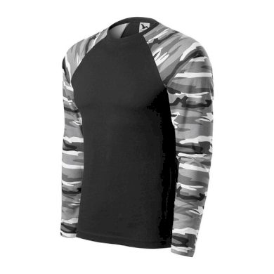 Pánské triko Camouflage LS, dlouhý rukáv MALFINI