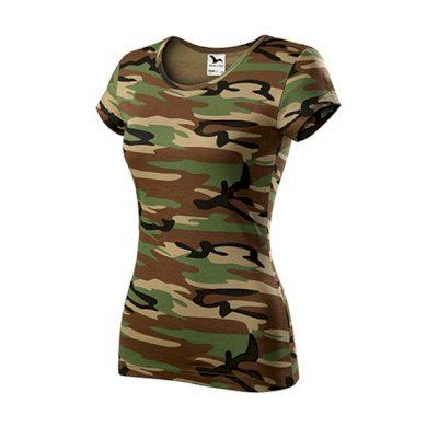 Dámské triko Pure Camouflage MALFINI