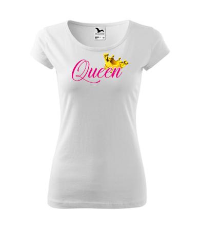 Dámské triko s potiskem Queen TT