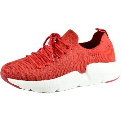 Boty sneakersy červené dámské BIG STAR