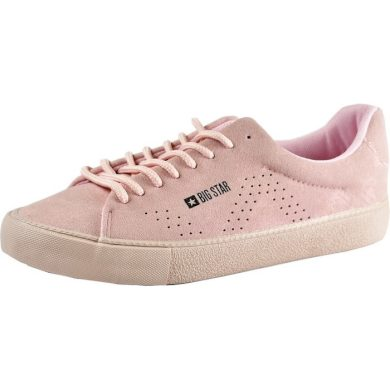 Boty sneakersy růžové dámské BIG STAR