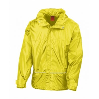 lehká bunda do deště,žlutá R155X