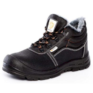 Kotníkové pracovní zimní boty WINTER SOLID S1 SRC Procera