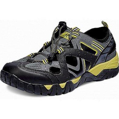 Pánské sandále MEDDON černo-žluté CRV